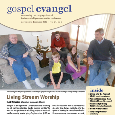 Nov/Dec Gospel Evangel now available
