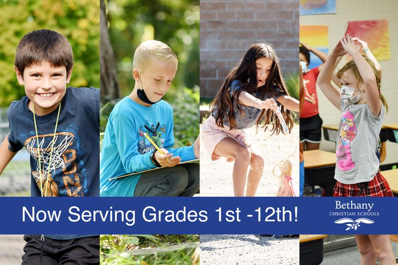 Bethany Christian Schools Adds Two New Grades